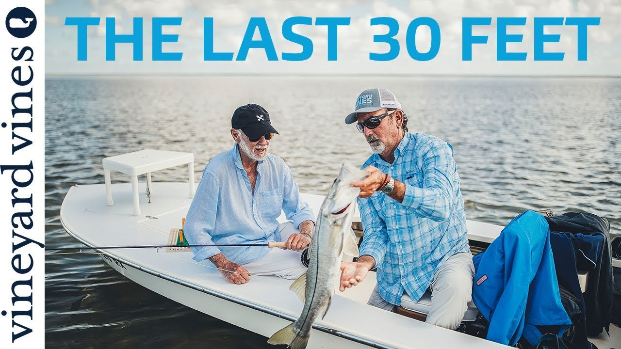 5d46be3f The Last 30 Feet: Fly Fishing with Sandy Moret   vineyard vines ...