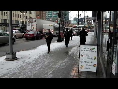Winnipeg Today | 75 | April 4 | Hail Snow and Wind