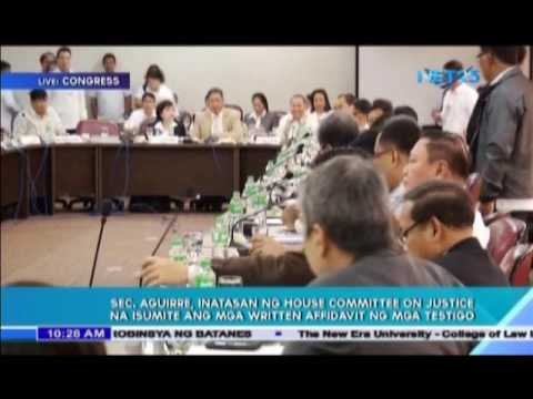 Day 2 of House of Representative hearing on alleged illegal drug trade in NBP Part 2