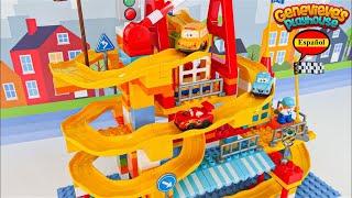 ¡El Mejor Video de Aprendizaje de Juguetes para Niños Building Block Lego Car Track!