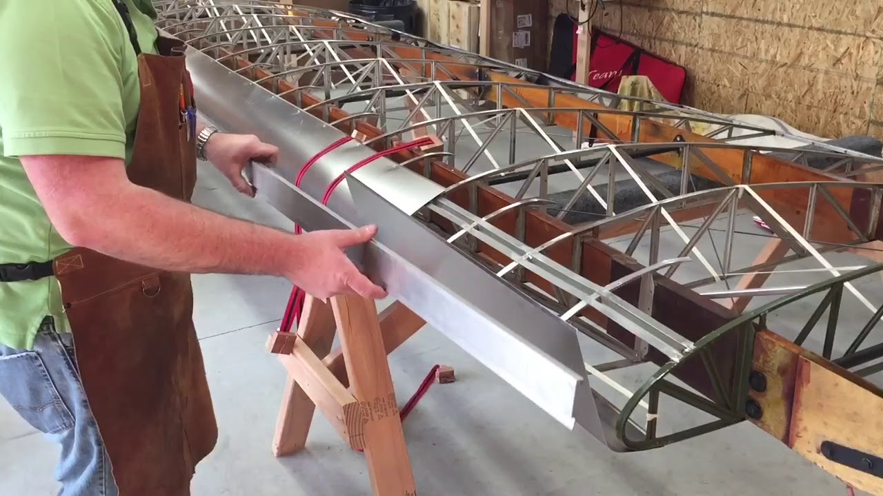 How to Install Leading Edges on a J-3 Piper Cub Wing