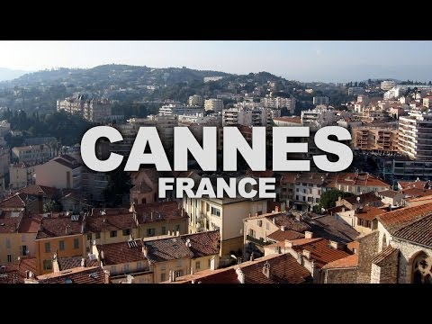 Cannes, a City in the French Riviera, Home of the Cannes Fil