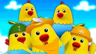 cinco galinhas gordas safadas | saltando rimas para crianças | músicas infantis | 5 Naughty Fat Hens