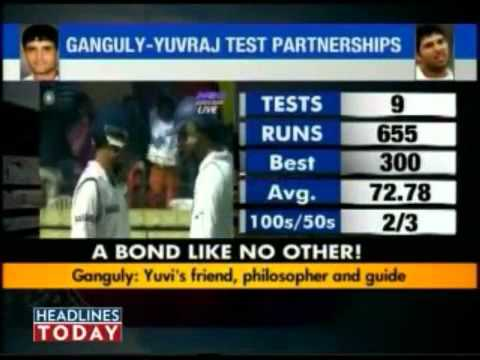 Sourav Ganguly & Yuvraj Singh   A Bond Like No Other