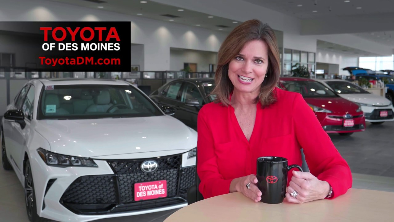 Toyota of Des Moines May Special Offers