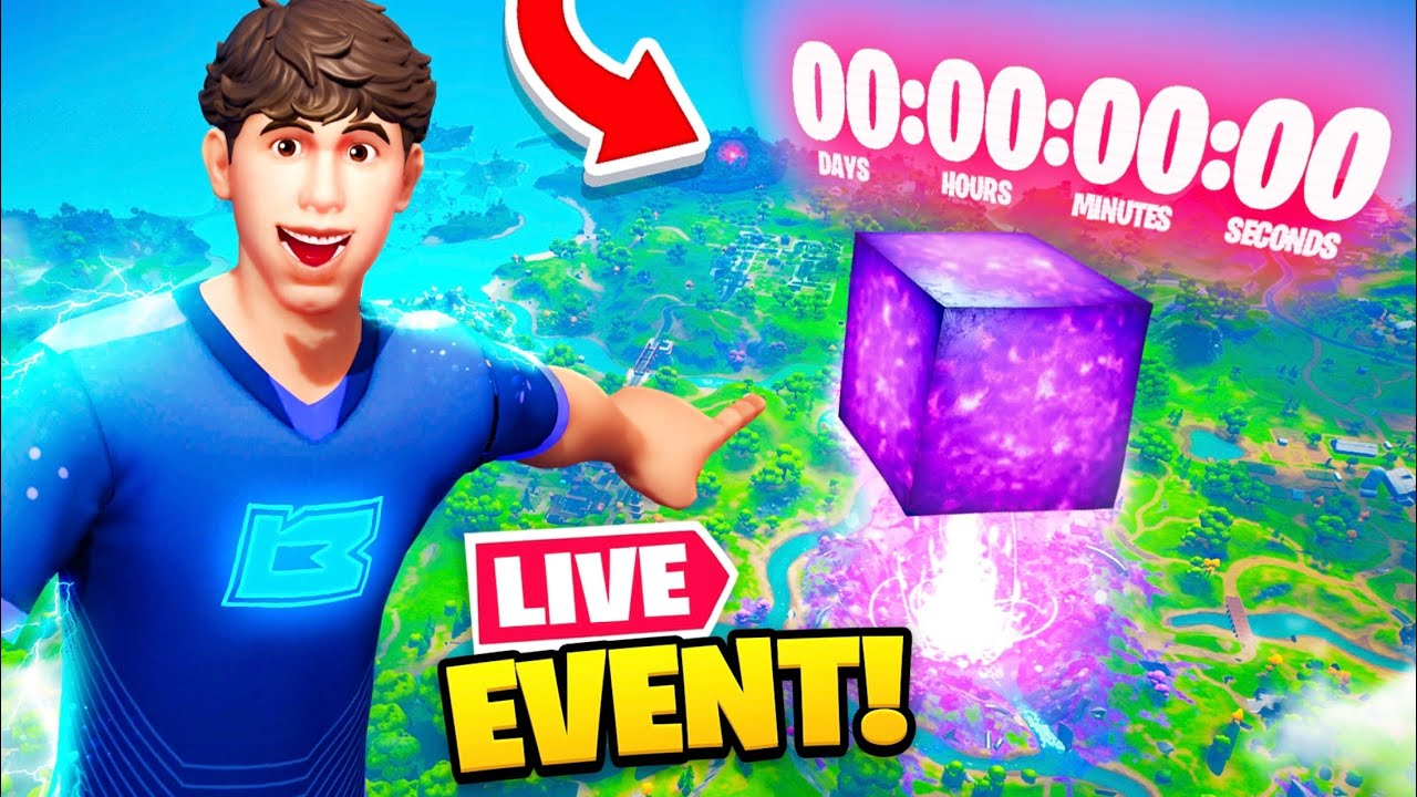 Download *NEW* LIVE EVENT update in Fortnite! (CUBE RETURNS!?)