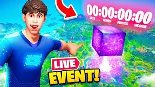 *NEW* LIVE EVENT update in Fortnite! (CUBE RETURNS!?)