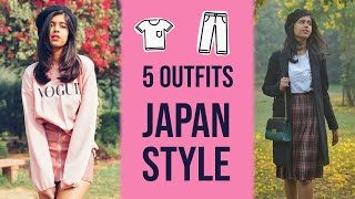 5 outfits Japan Style...I'm obsessed | Sejal Kumar