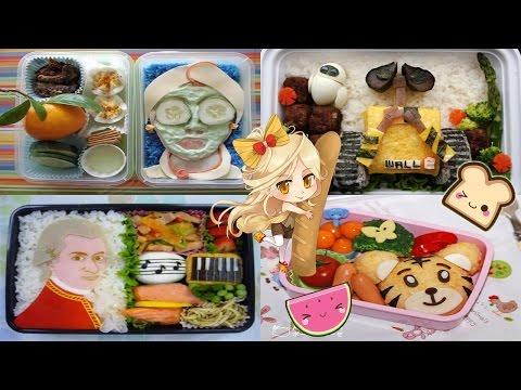 Бэнто — еда как искусство собирать завтраки. Bento - Food As Art