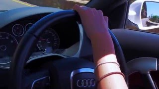 Taking the Audi for a drive around Cape Town