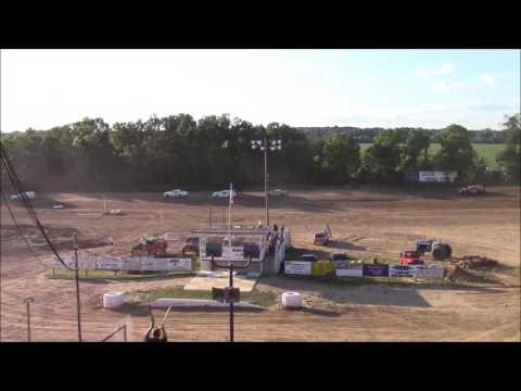 Butler Motor Speedway Street Stock Heat #2 7/8/17