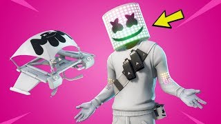 FORTNITE NOUVEAU MARSHMELLO SKIN! Boutique d'objets Fortnite! Fortnite New Mello Rider Et Marsh Walk Emote!