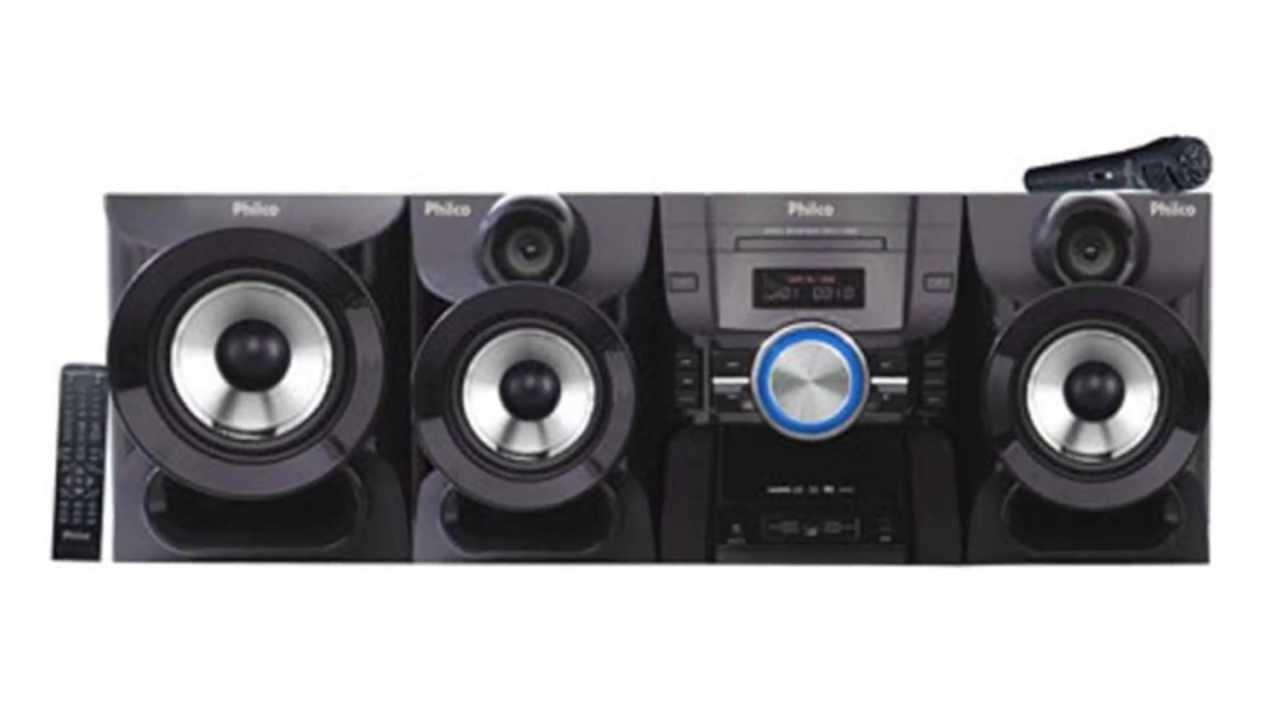 e47fe41a12b Mini System Philco PH1100M 1100W RMS