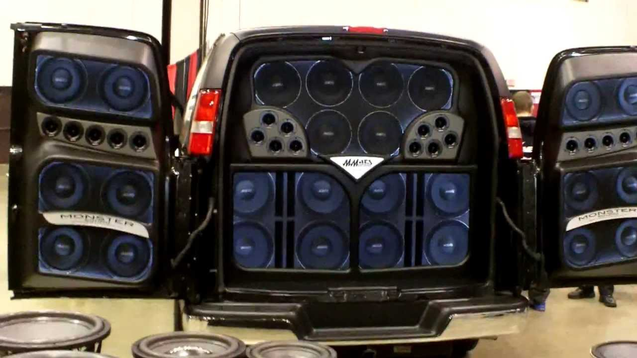 Mmats Pro Audio Insane Demo Van Car Audio World Finals