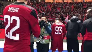 ÖFK hyllas av fansen i Berlin