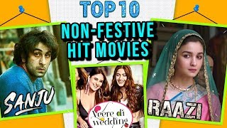 Top 10 HIT MOVIES NOT Released During Eid, Diwali, New Year