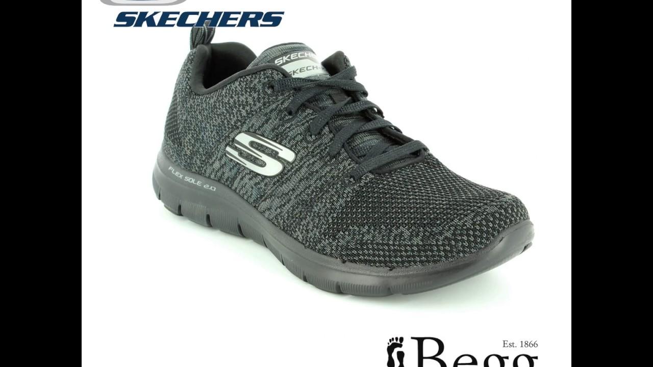 Skechers Flex Appeal 2 12756 BKCC Black