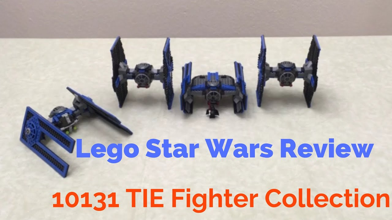 Lego Star Wars Review: 10131 TIE Fighter Collection