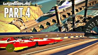 Wipeout Omega Collection Campaign Part 4 - Wipeout HD Warped (PS4 Pro Gameplay)