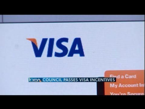 Austin City Council Approves Incentives for Visa Inc.