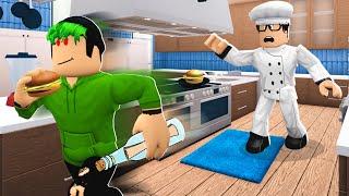I Became A Chef.. Criminal Stole SECRET FORMULA! (Roblox Bloxburg)