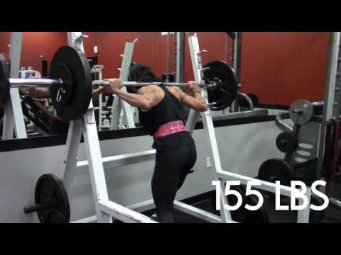 IFBB PRO JENNIFER TAYLOR TRAINING LEGS 2 WEEKS OUT FROM 2016 OLYMPIA