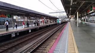 京都市営地下鉄烏丸線国際会館行き竹田到着