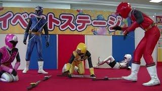 2015/11/14 埼玉県越谷市で行われた、手裏剣戦隊ニンニンジャーショーの...