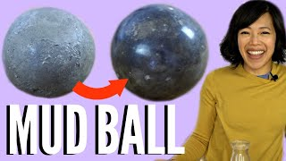 How to Make a Shiny MUD BALL | DIY Dorodango - Japanese Polished Clay Ball