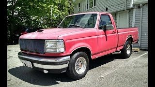 5.0 with Full Length Headers Firing up my 1993 F150 XLT -35F ...