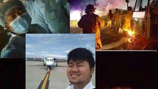 NAIA PLANE CRASH NAKAKALUNGKOT PARA SA KABABAYAN NATIN FRONTLINERS NASAWI (Rest in peace)