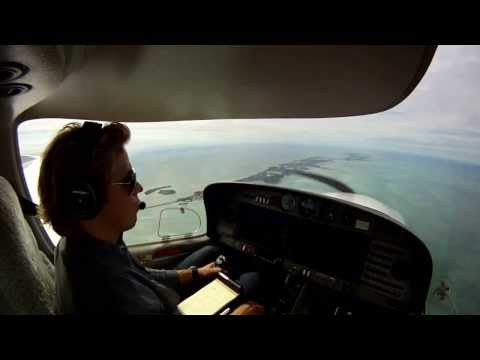 Ft. Lauderdale Executive to Marathon Key with the Diamond DA40 Full Video with ATC
