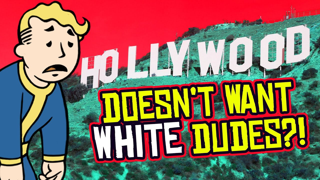 Hollywood Doesn't Want WHITE DUDES Anymore, Say Movie Execs.