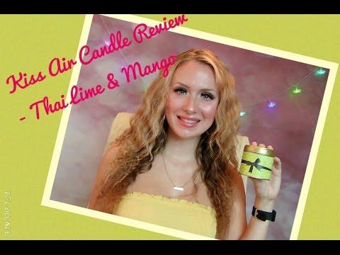 Kiss Air Candles Review ~ Thai Lime & Mango