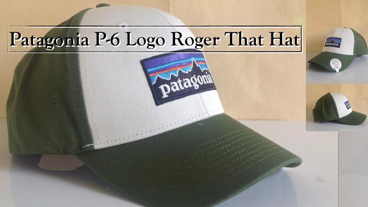 Patagonia P 6 Logo Roger That Hat  4a71f895864