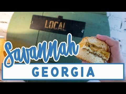 Savannah Georgia Travel Vlog // Forsyth Park and a Savannah Food Tour