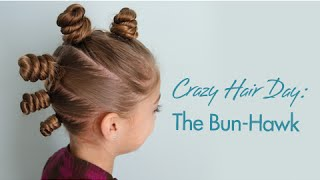 The Bun-Hawk   Crazy Hair Day   Cute Girls Hairstyles