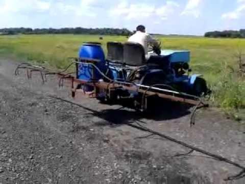 Опрыскиватели для трактора своими руками