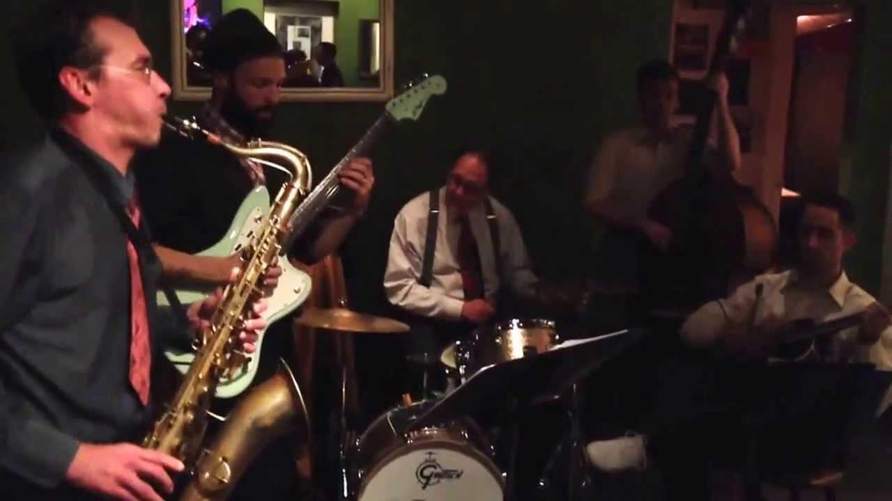 Rosetta - Jon Doyle Quintet @ the Butterfly Bar 2013-12-22 ... Jon Gould Guitar
