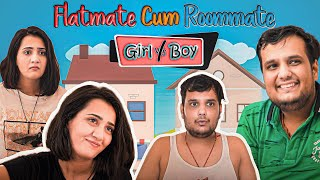 Flatmate Cum Roommate Girl vs Boy || The ROHIT SHARMA | @Riya Mavi