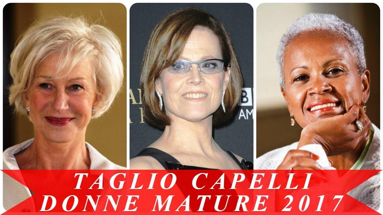 spesso Taglio capelli donne mature 2017 - YouTube TI53