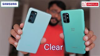OnePlus 8T vs Galaxy S20FE - Clear Practical Comparison  ........!!