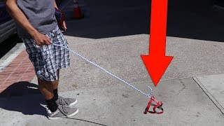 😱 People Reacting to Invisible Dog 🤣