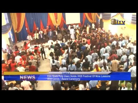 Download Edo State Poly Usen holds 2020 Festival of Nine Lessons and Carols/Award Ceremony