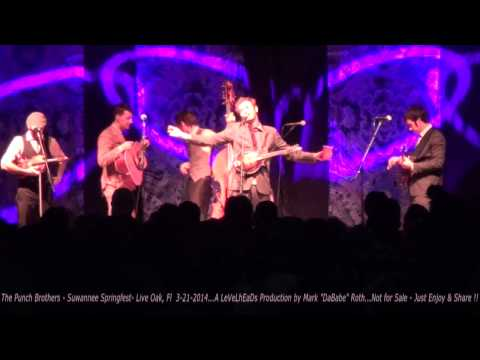 The Punch Brothers Entire set - Suwannee Springfest - Live Oak, Fl  3- 21- 2014