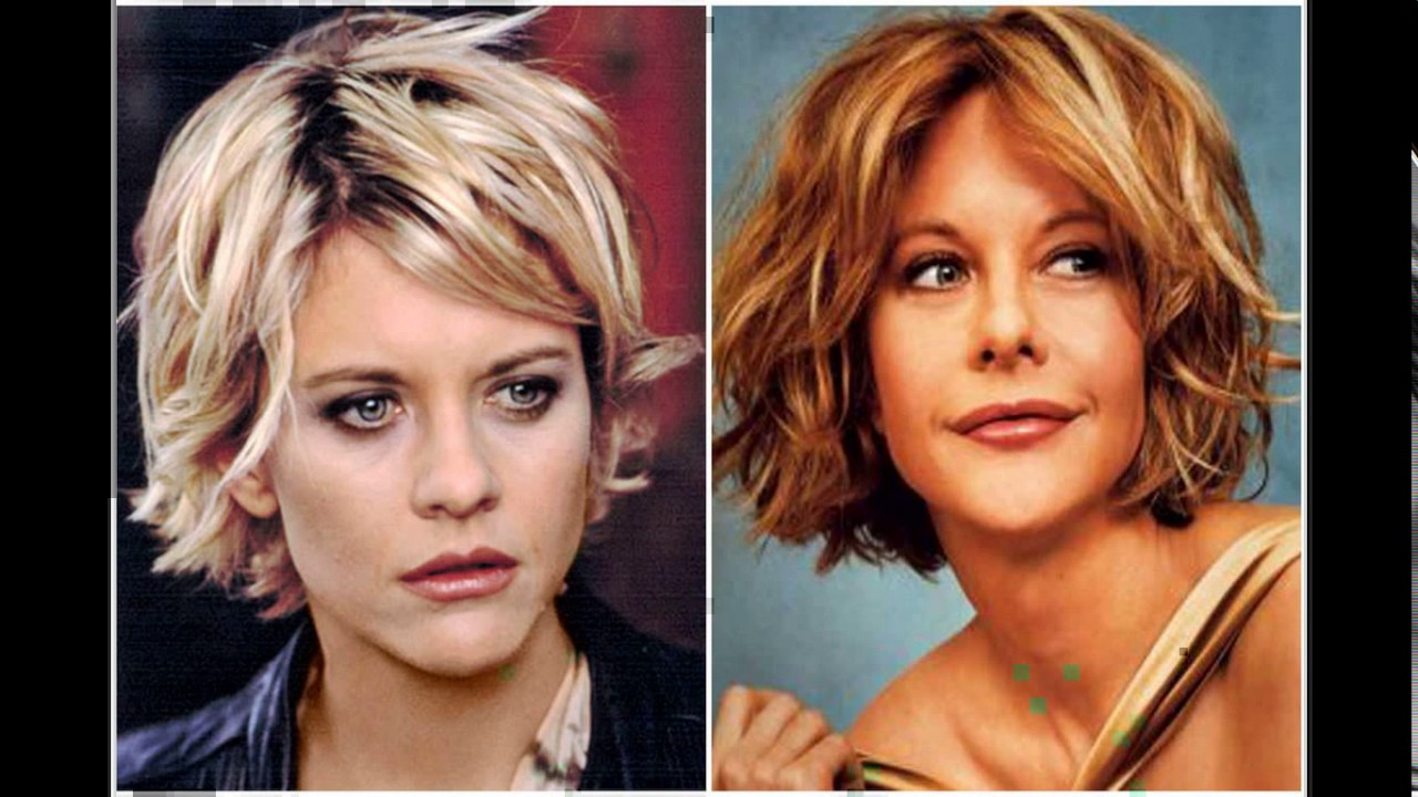 short meg ryan haircuts