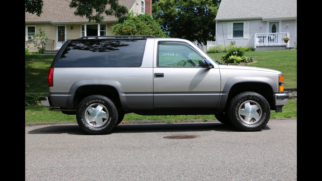 sold 3 995 1999 chevrolet tahoe 2 door for sale new paint lots of new parts price 2 sell [ 1280 x 720 Pixel ]