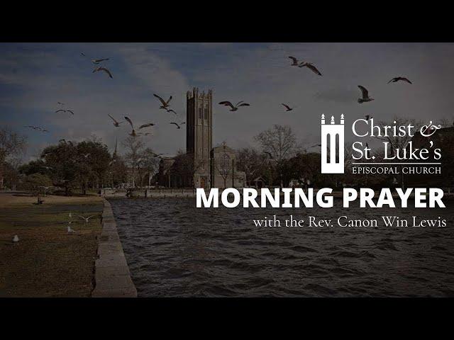 Morning Prayer for Maundy Thursday, April 1