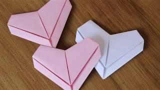 【日本文化】日本摺紙《愛心的摺法》