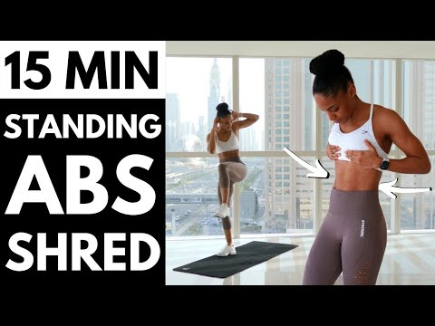 NO JUMPING!! STANDING ONLY ABS WORKOUT | Get Ripped ABS